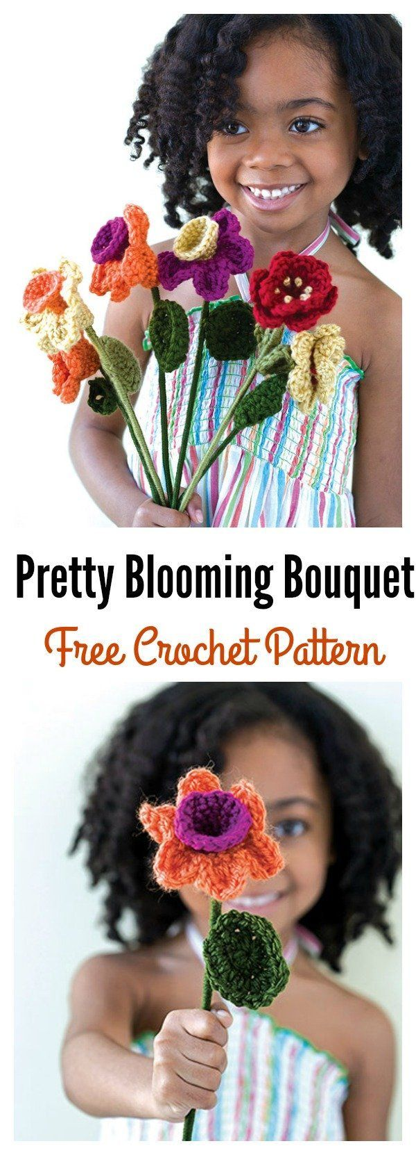 Valentine's Day Crochet Flowers Free Patterns #valentines day crafts decorations crochet patterns Valentine's Day Crochet Flowers Free Patterns #crochetedflowers