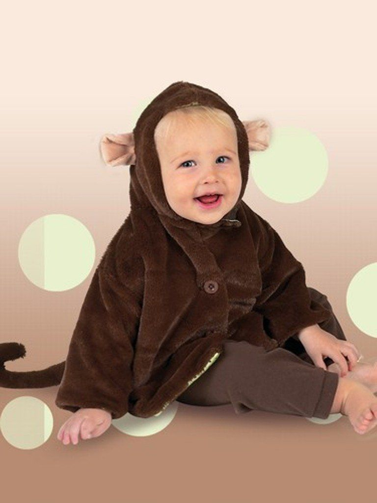 098949f7a38f Bearington Bears Giggles Monkey Coat 6-12 months