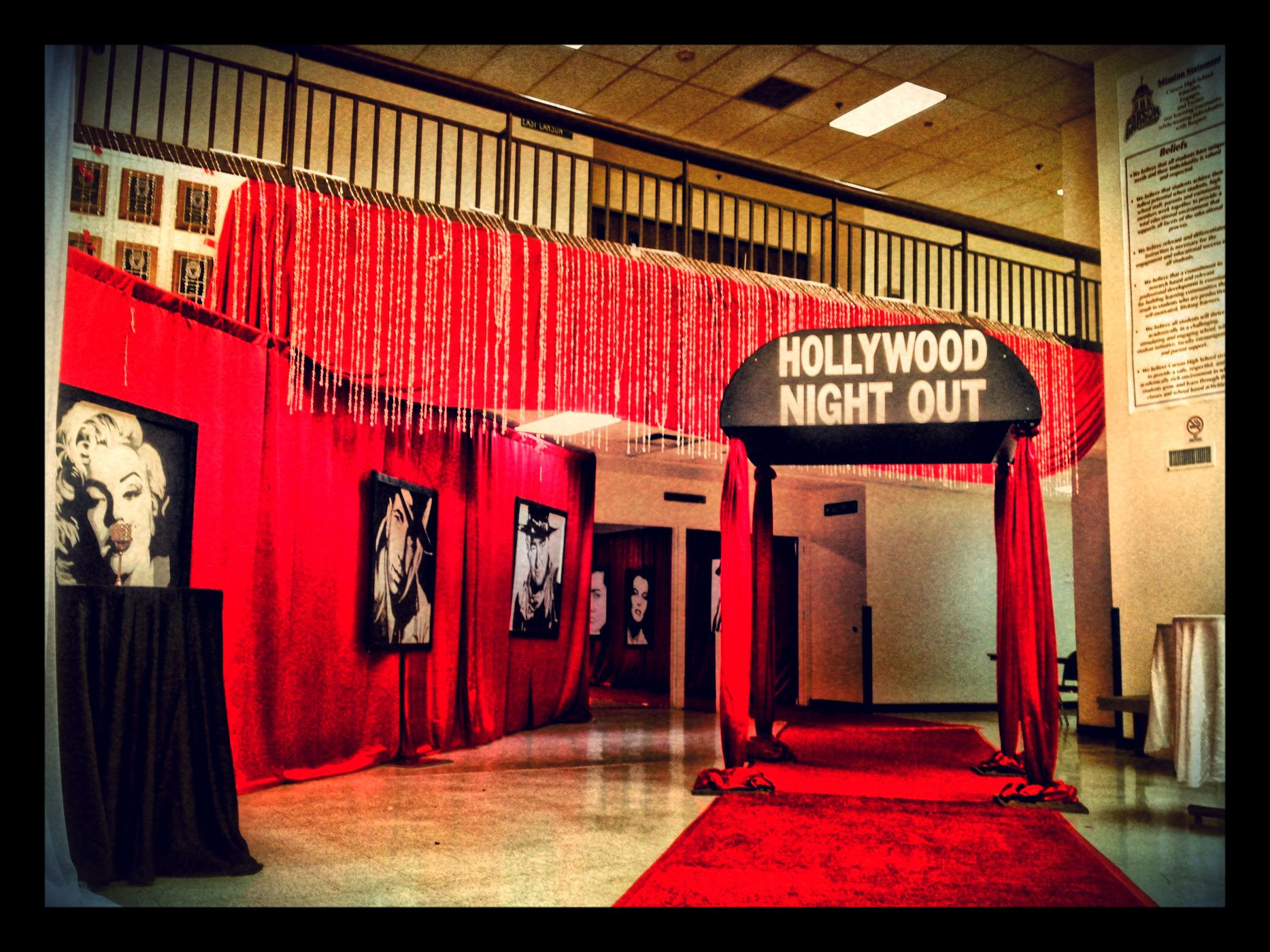 An Extravagant Hollywood Theme Was Used For Carson Citys Prom Night As They Walked The Red Carpet And Danced Away In Style