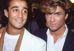 Wham! Andrew Ridgeley and George Michael