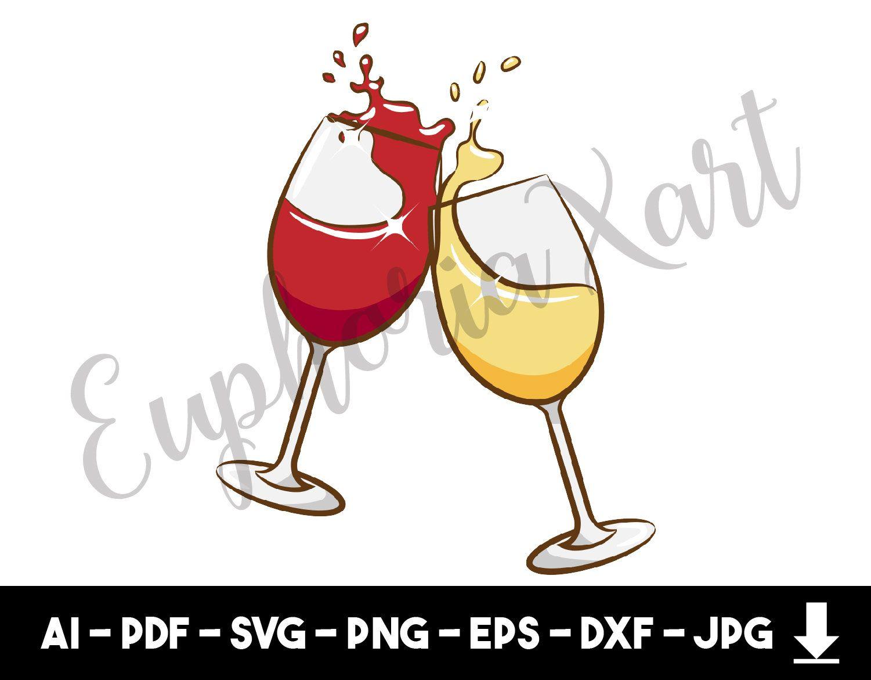 Wine Glass Svg Wine Glass Clipart Wine Glass Cartoon Wine Etsy Clip Art Wine Glass Svg
