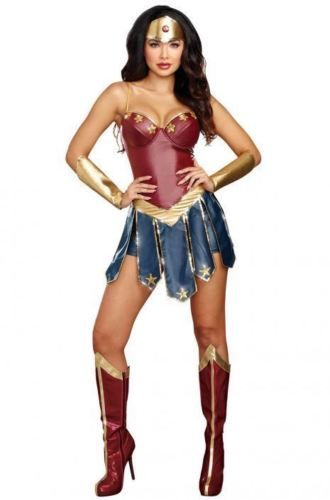 40d5a66b64e45 Women 53369: Hero Hottie Sexy Women S Super Hero Halloween Costume ...
