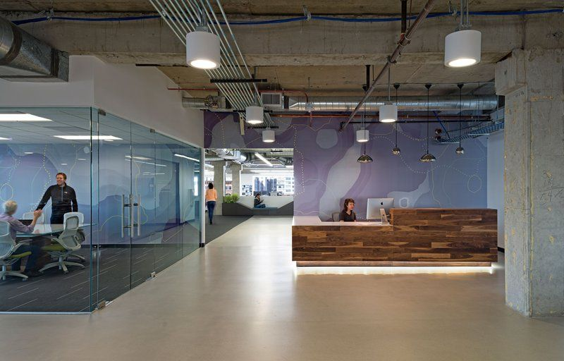 climate corporations san francisco offices. Delighful Corporations Inside Climate Corporationu0027s Super Cool San Francisco Office  MASHstudios  Reception Desk Http With Corporations Offices C