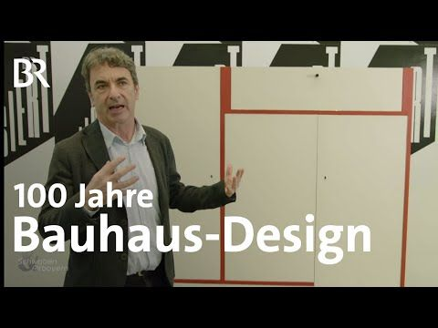 100 Jahre Bauhaus Die Münchner Pinakothek feiert Design