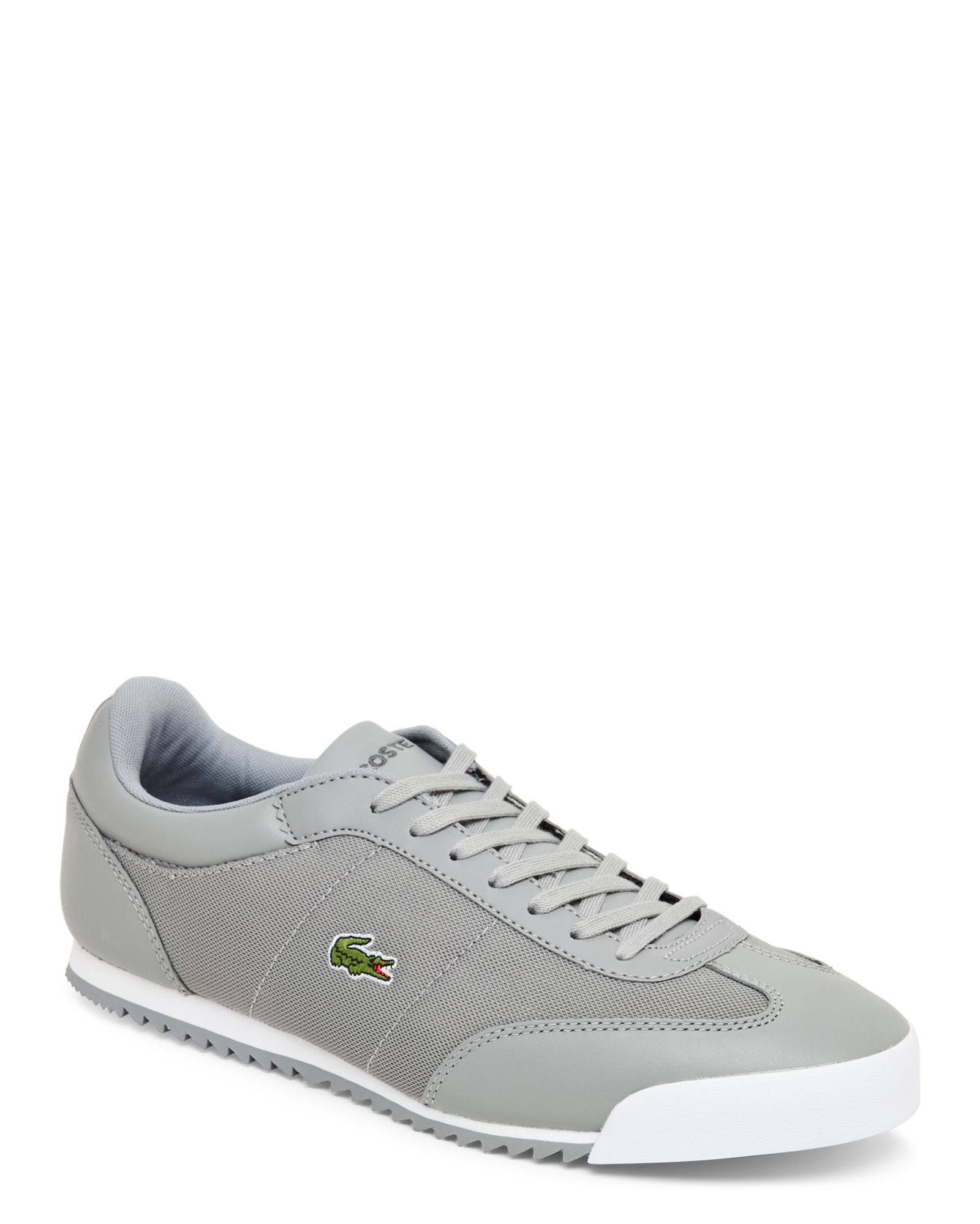 abaa40ce8dad8 Lacoste Grey Romeau 216 1 SPM Low Top Sneakers Lacoste Shoes