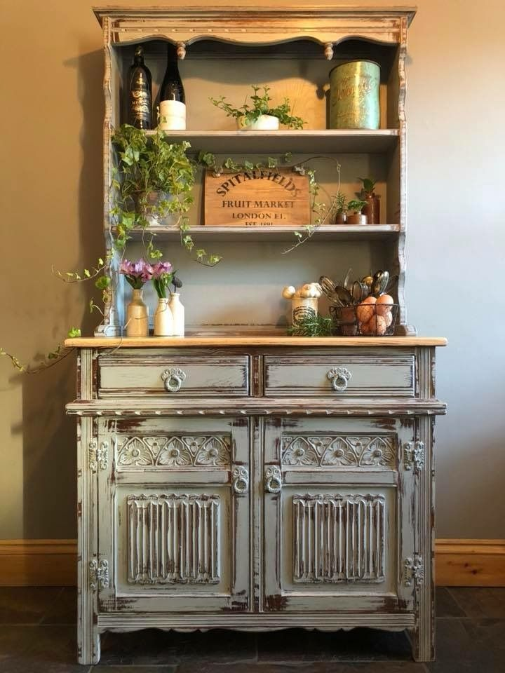 Annie Sloan chalk paint and clear wax. Beautiful! | Proyectos con ...