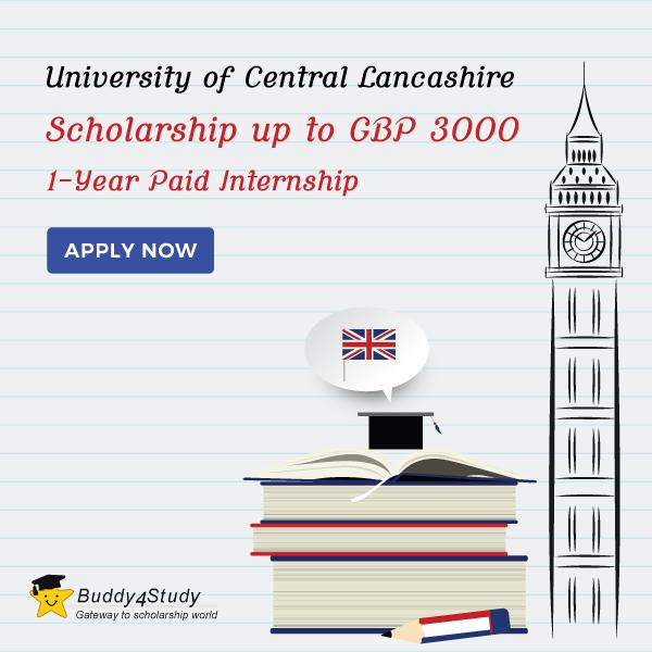Apply For The University Of Central Lancashire Merit Scholarship