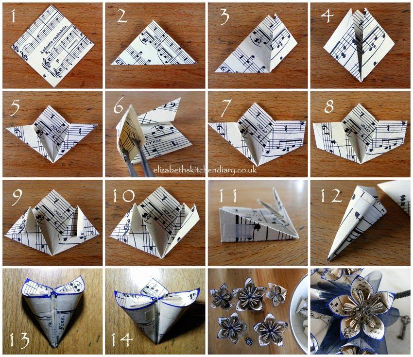 die besten 25 origami blumen tutorial ideen auf pinterest origami blumen origami und diy origami. Black Bedroom Furniture Sets. Home Design Ideas