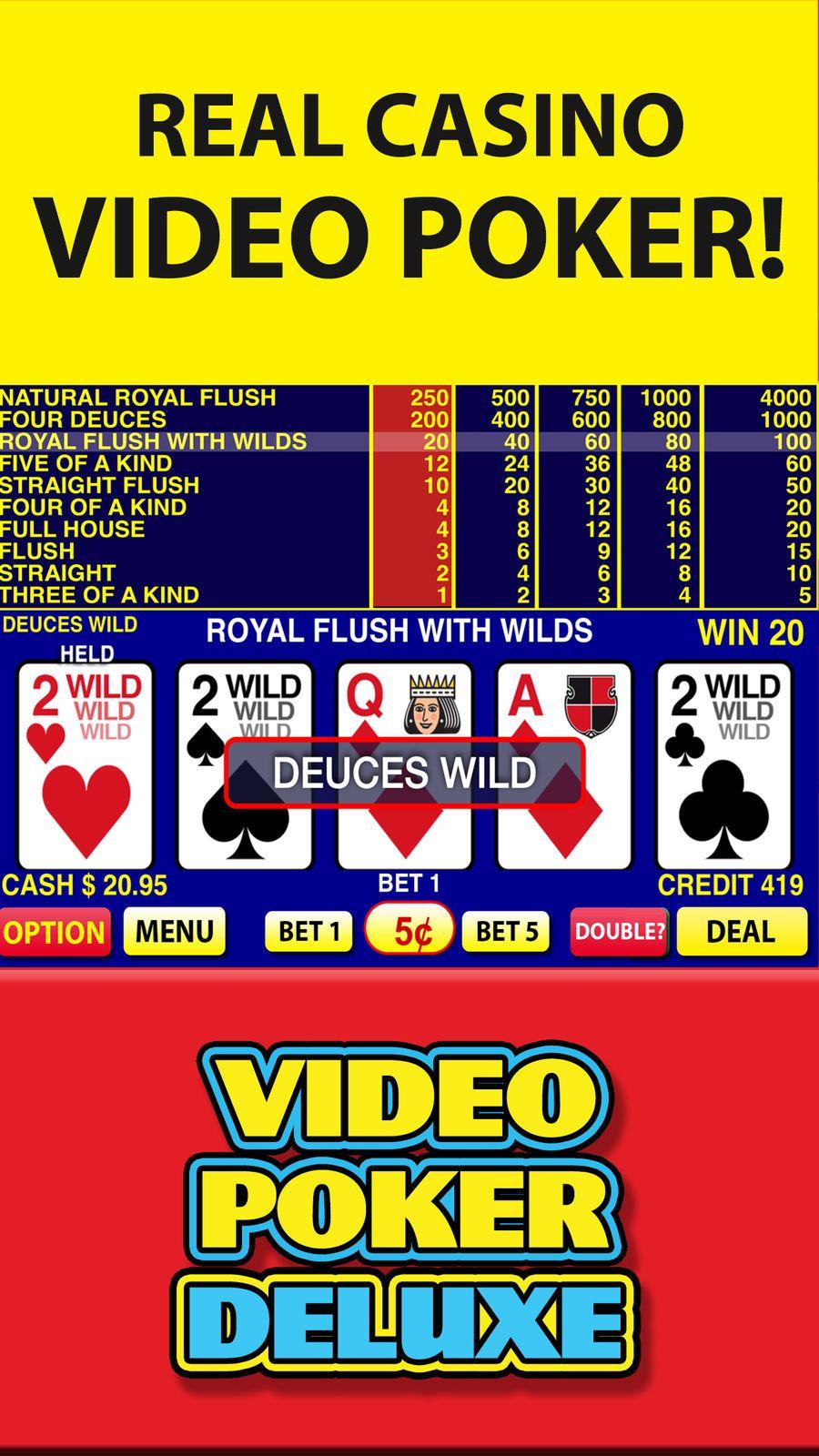 Video Poker Deluxe Casino GamesLabsEntertainmentios