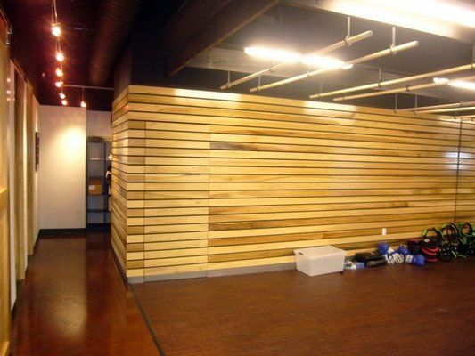 Wood Slat Wall Home Theater Pinterest Slat wall Wood slat