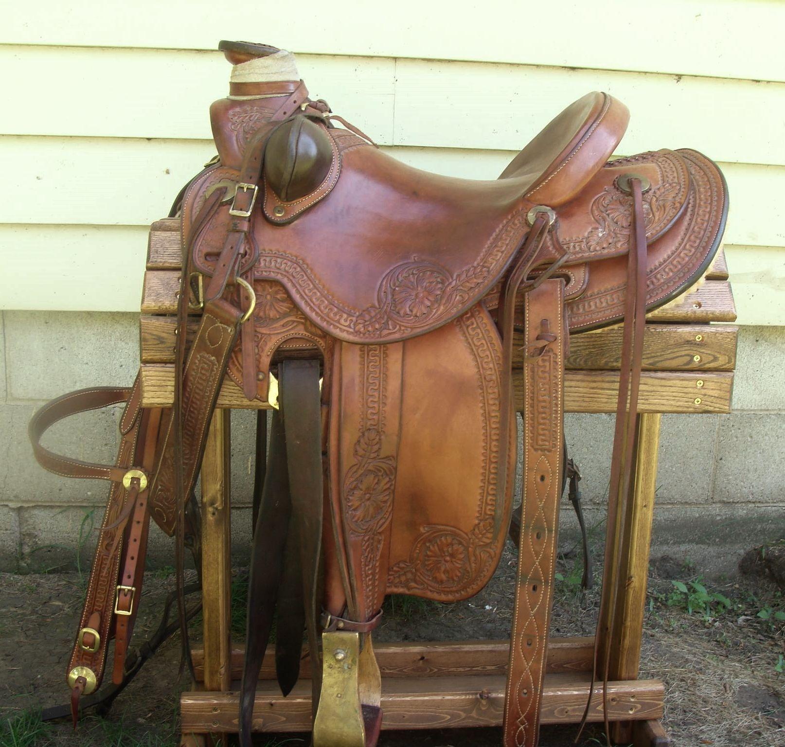 Custom Brent S. Tubre Handmade Lady Wade Saddle for Sale ...