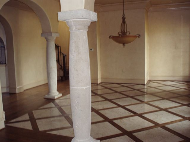 Wood And Tile Mixed Floor Beautiful Marble And Wood