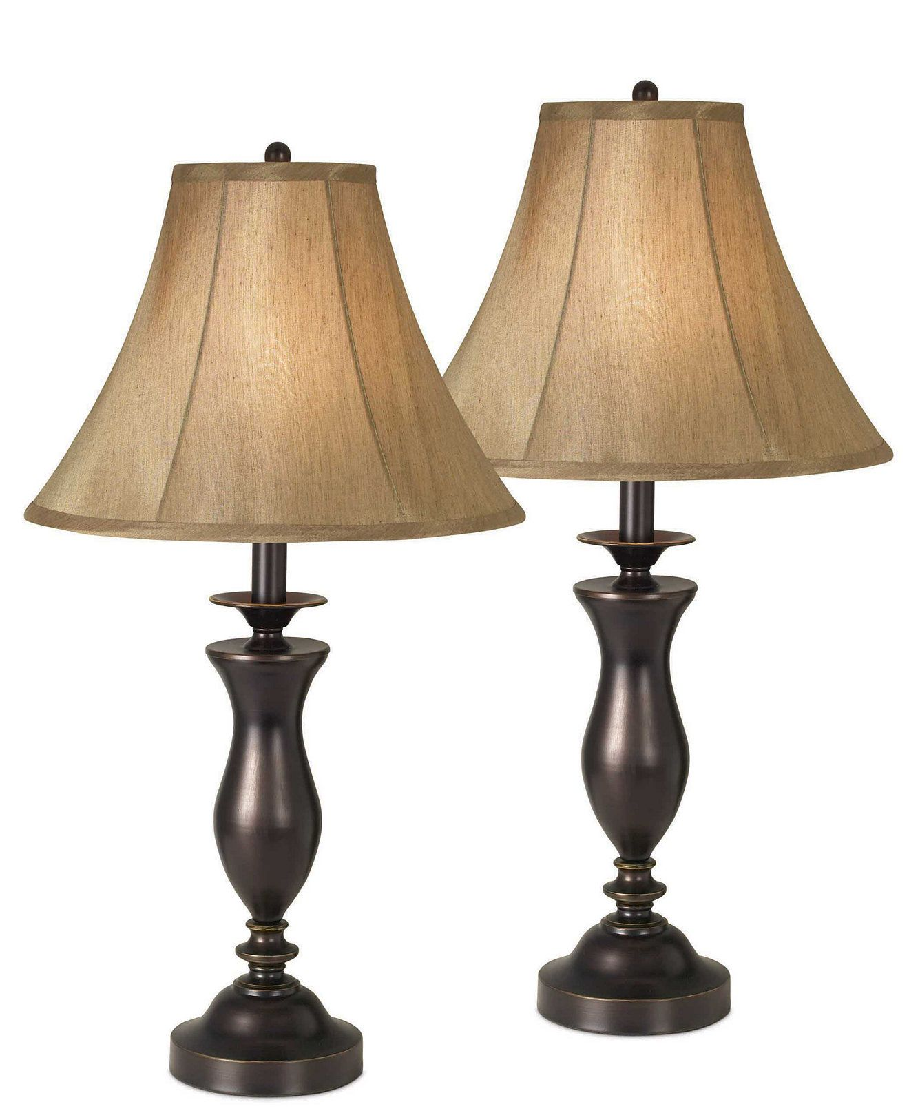 Kathy Ireland Home By Pacific Coast New England Village Set Of 2 Table Lamps Reviews All Lighting Home Decor Macy S Home Goods Decor Home Home Decor