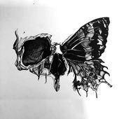 #inspirationaltattoosdesigns #butterfly #tattoo #design #skull -  #inspirationaltattoosdesigns #butterfly #tattoo #design #skull   - #butterfly #butterflytattoo #design #girltattoo #halfbutterflytattoo #inspirationaltattoosdesigns #skull #smalltattooformen #tattoo #tattooformenmeaningful #tattooformenonchest