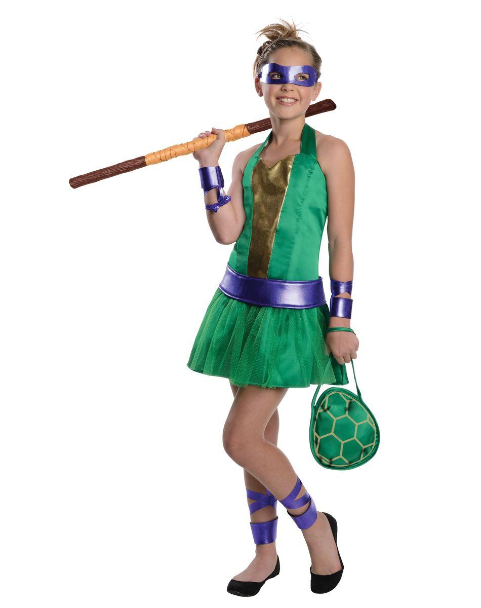 Teenage Mutant Ninja Turtles Donatello Tween Costume – Spirit ...