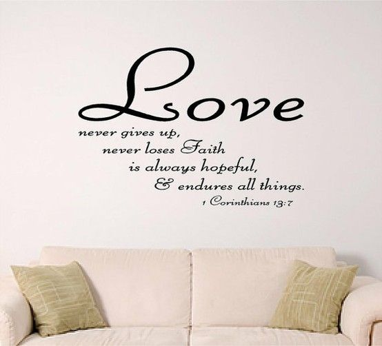 Etonnant Bible Verse Wall Art Love By SignGuysAndGal On Etsy, $19.00 This Is My  Favorite Chapter