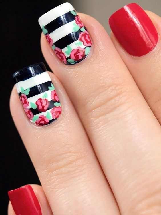 30+ Ombre Nail Arts That You Will Love | Pedicura, Arte de uñas y ...