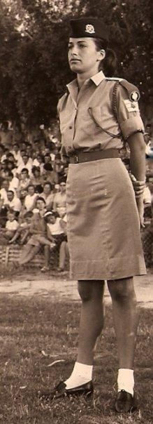 Mini skirts, rooster hats, Golda shoes and snowsuits: See 65 years of #style in the #IDF...