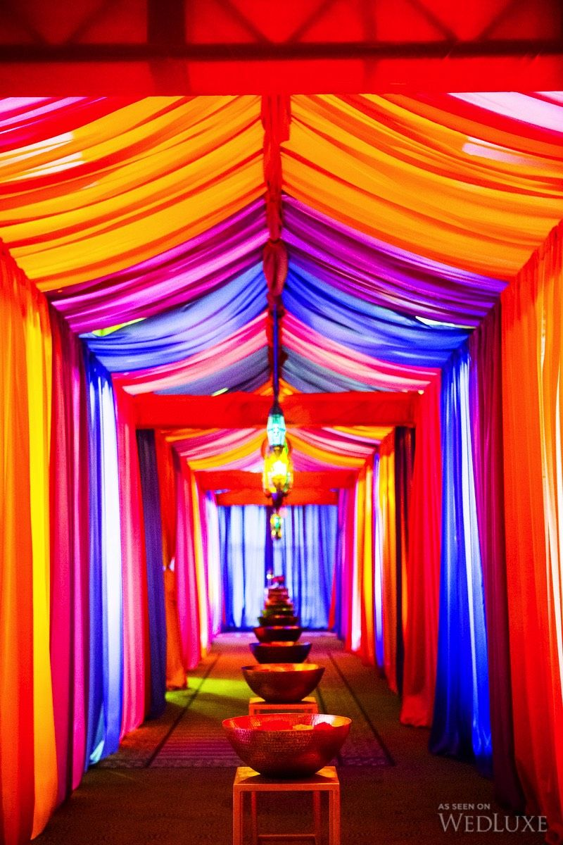 Latest wedding stage decoration  An UltraLuxe ThreeDay Eastern Wedding Day  Inspired by Morocco