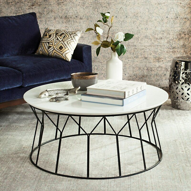 Alcott Coffee Table Mid Century Coffee Table Contemporary