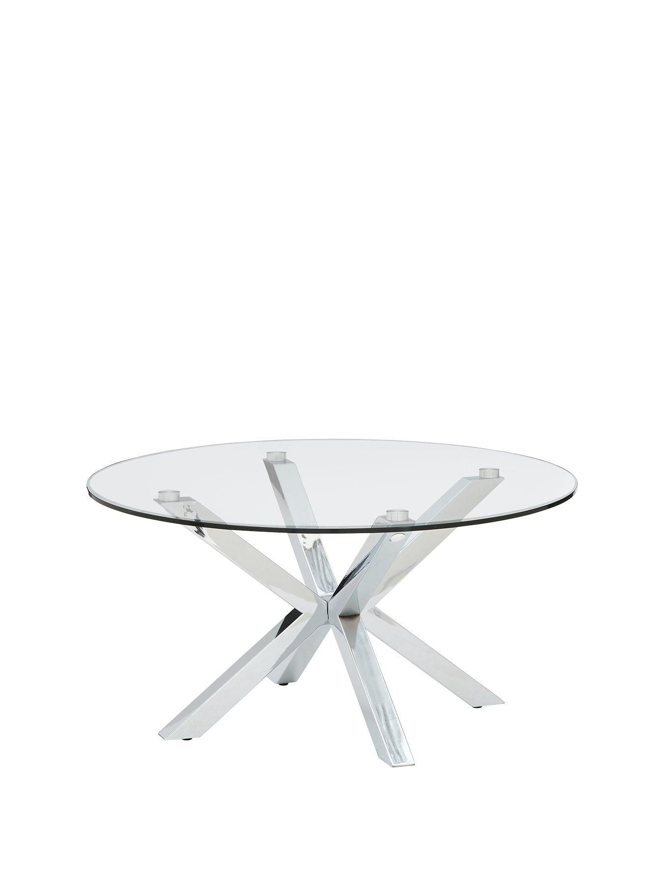 Chopstick Glass And Chrome Coffee Table Glass Top Table Coffee Table Chrome [ 1800 x 1350 Pixel ]