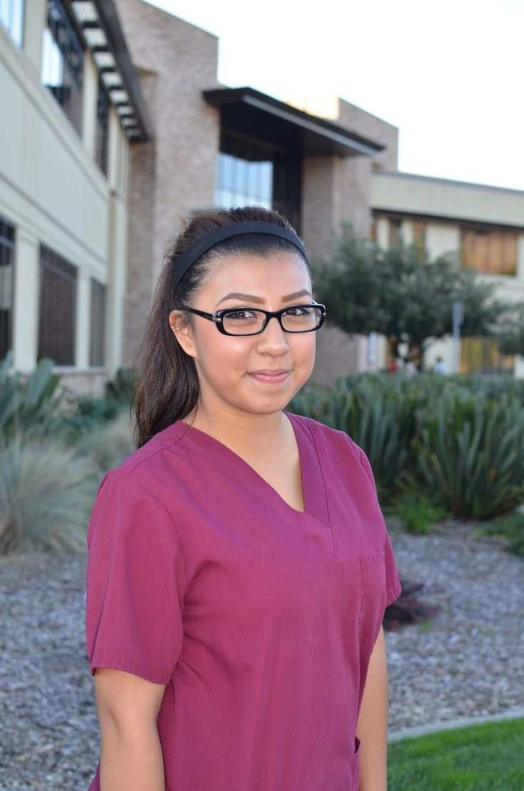gabby gabriela morales is an optometric assistant she preforms pretesting and frame adjustments she