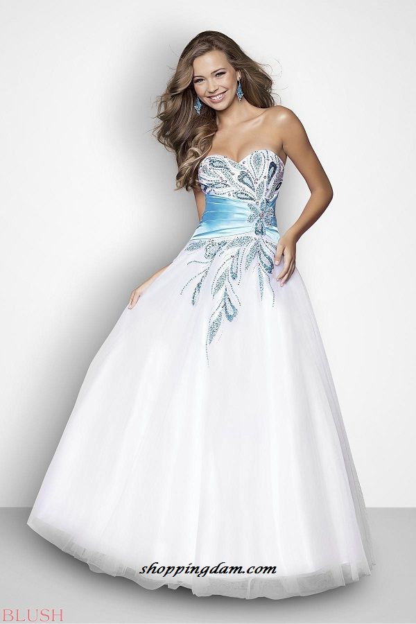 Beautiful Ball Gowns | Beautiful Blush Ball Gowns 2013 Collection ...