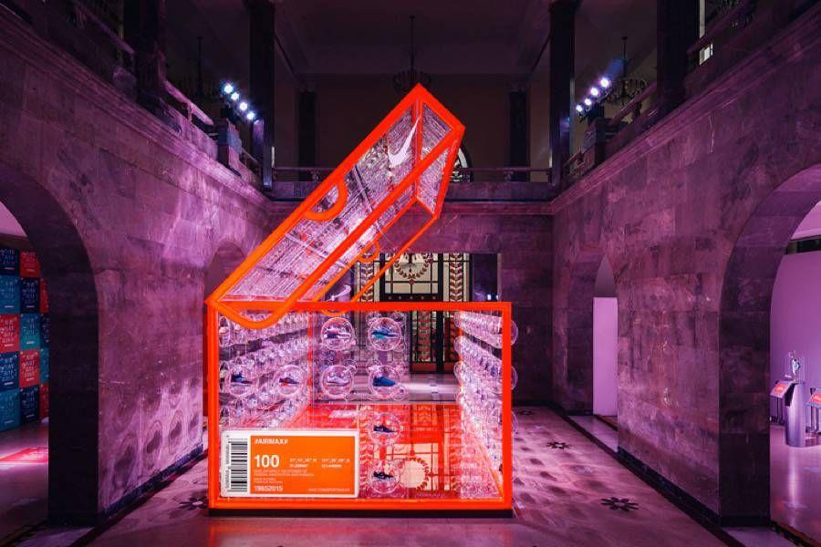 4554875434d La agencia londinesa Rosie Lee fue comisionada por Nike para diseñar una pop  up store para celebrar el Air Max Day la ciudad de Shanghai en China  ...