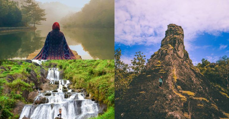 16 Rekomendasi Tempat Wisata Di Jogja Di 2020 Pemandangan Alam Danau