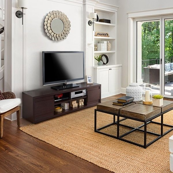 Attractive Furniture Of America Irvine Contemporary 70 Inch Entertainment TV Console |  Overstock.com Shopping
