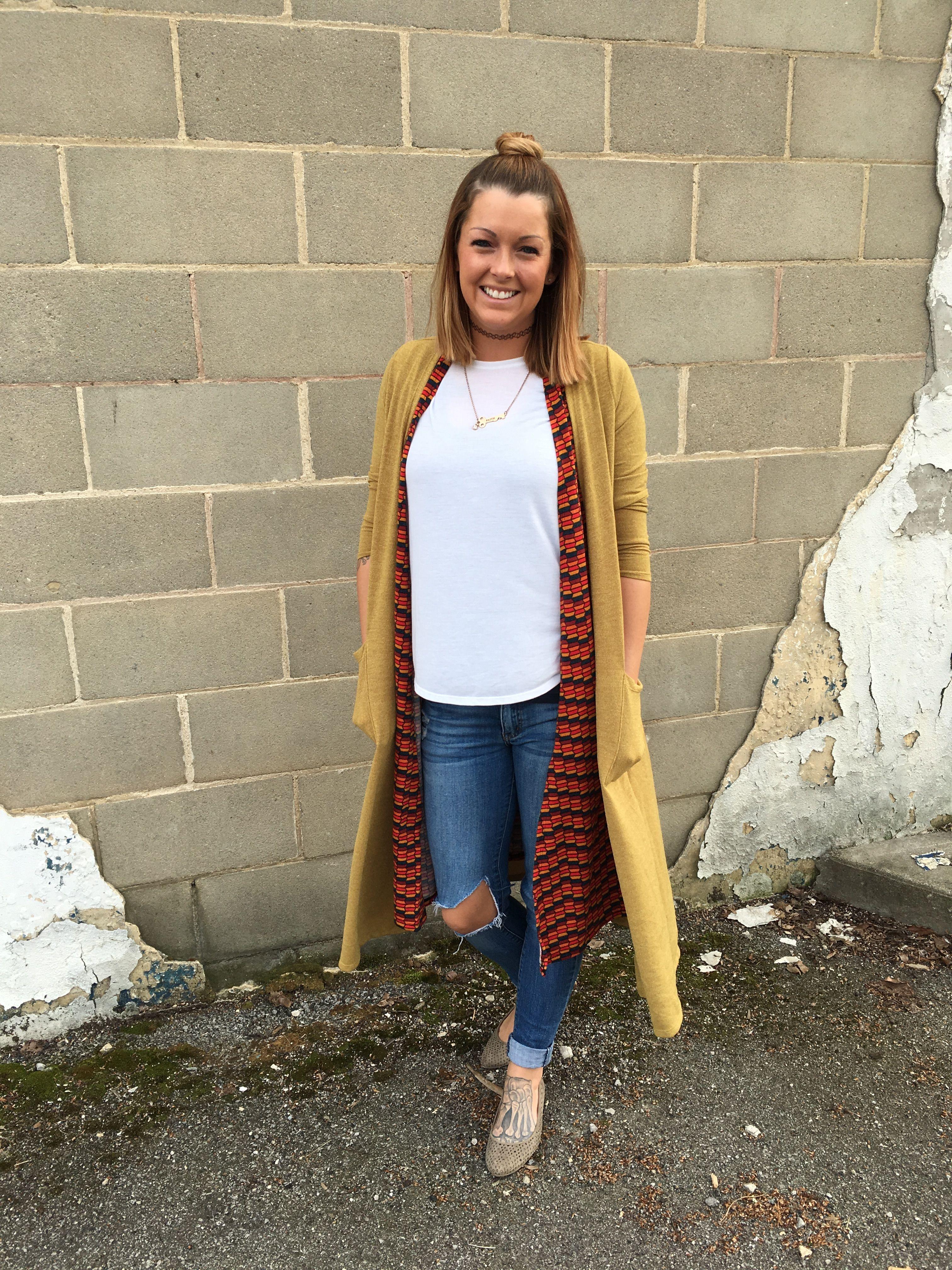 LuLaRoe #BeTheTrain with Jessica Kueber! Joy Vest, Sarah