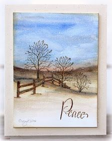 The code word this week is WATERCOLOUR on Addicted to CAS blog !     Here´s my card with one of my favorite stamps from Serendipity Stamps ...