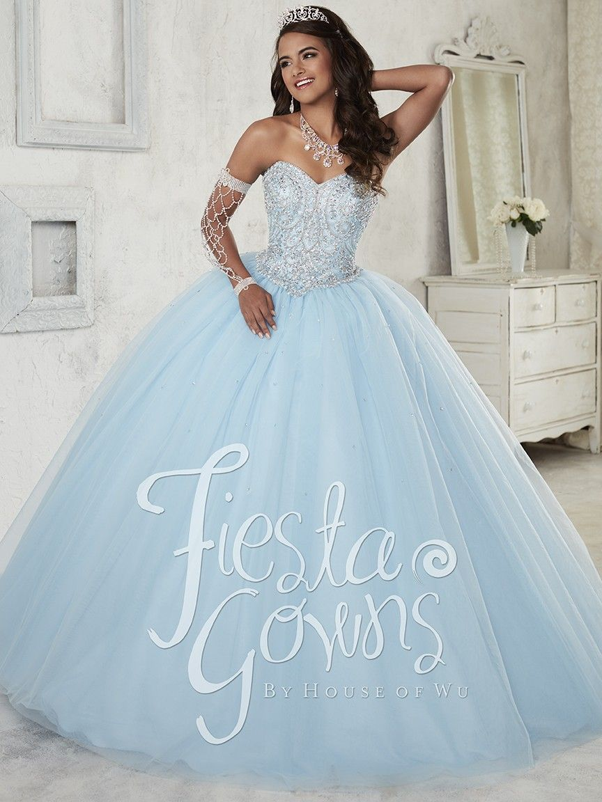 New Sale Gorgeous Blue Quinceanera Dresses 2016 Beaded Princess Ball Gown  Prom Dress With Sweet vestidos de 15 ano QD73 11405b16da54