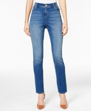 Inc International Concepts Curvy-Fit Skinny Jeans, Only at Macy's - Blue 18
