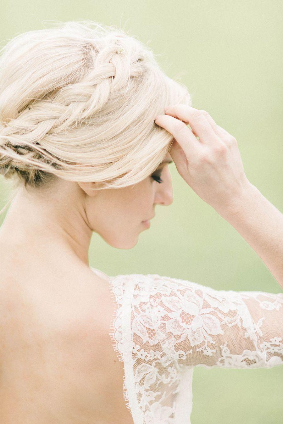 Elegant Winery Wedding Inspiration Elizabeth Anne Designs The Wedding Blog Wedding Hair Inspiration Hair Styles Bridal Hair