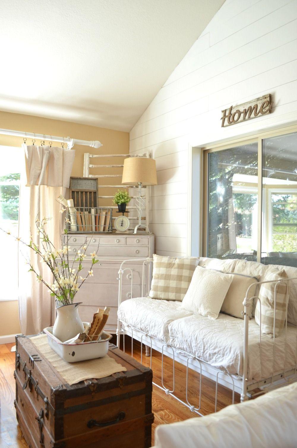- Vintage Hotel Mailbox & Updated Front Room Vintage Living Room