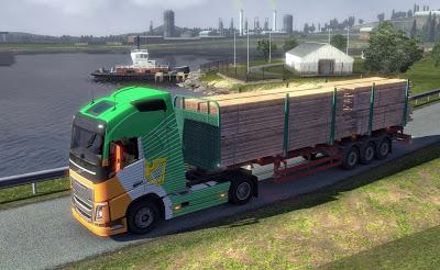 تحميل لعبة الشاحنات الكبيرة لنقل البضائع