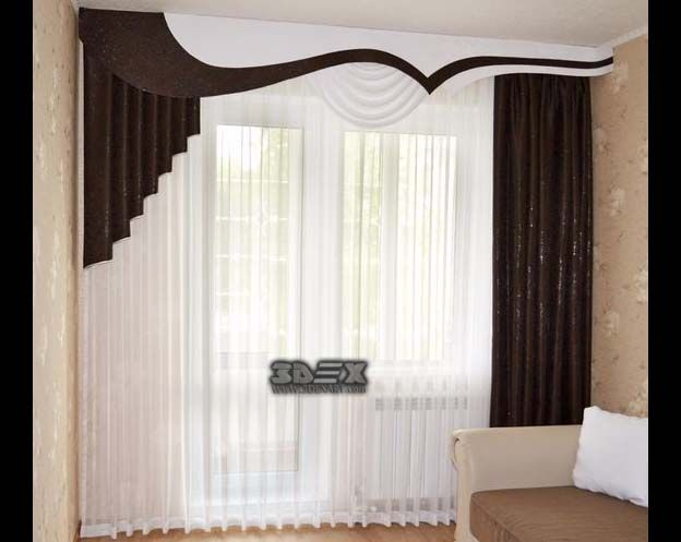 latest curtains designs for bedroom