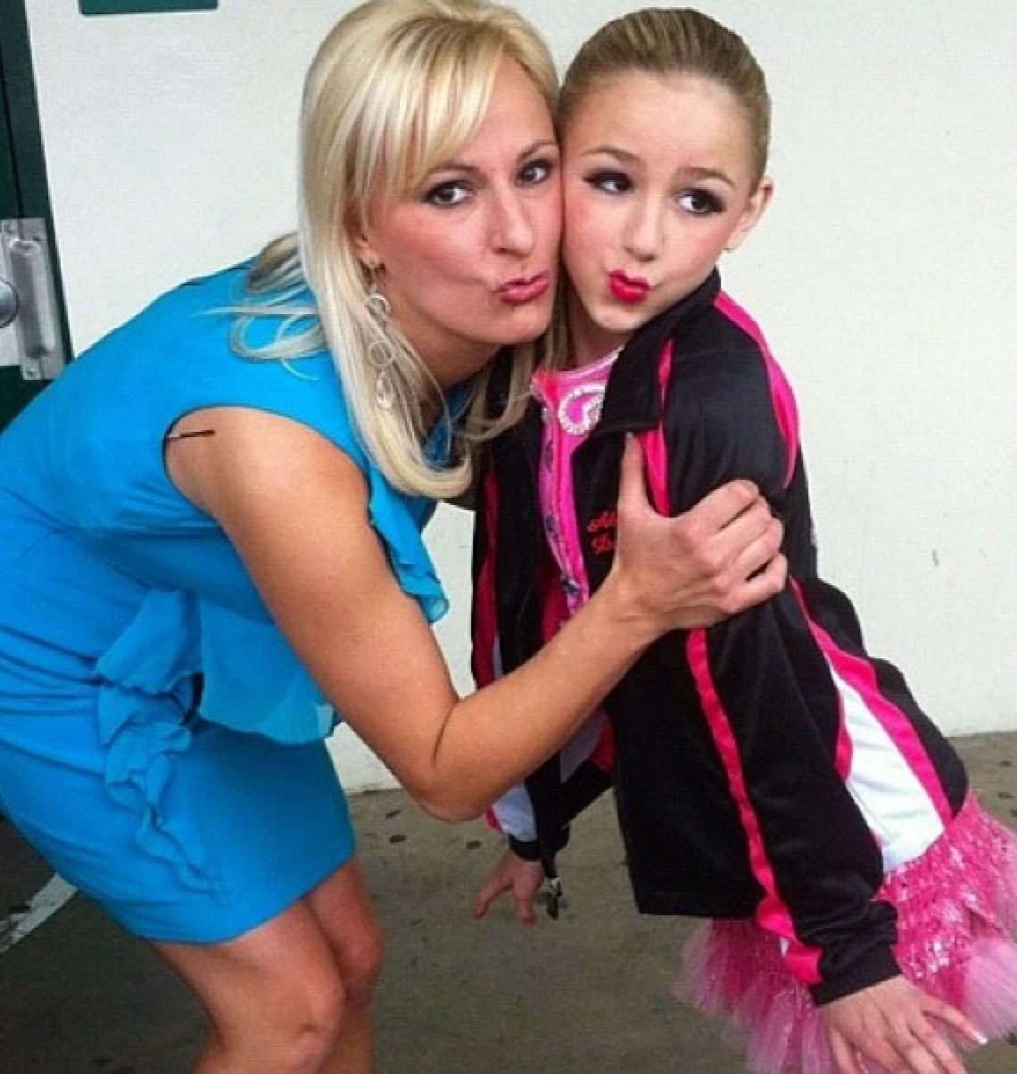 Christi Lukasiak with daughter Chloe Dance moms, Best