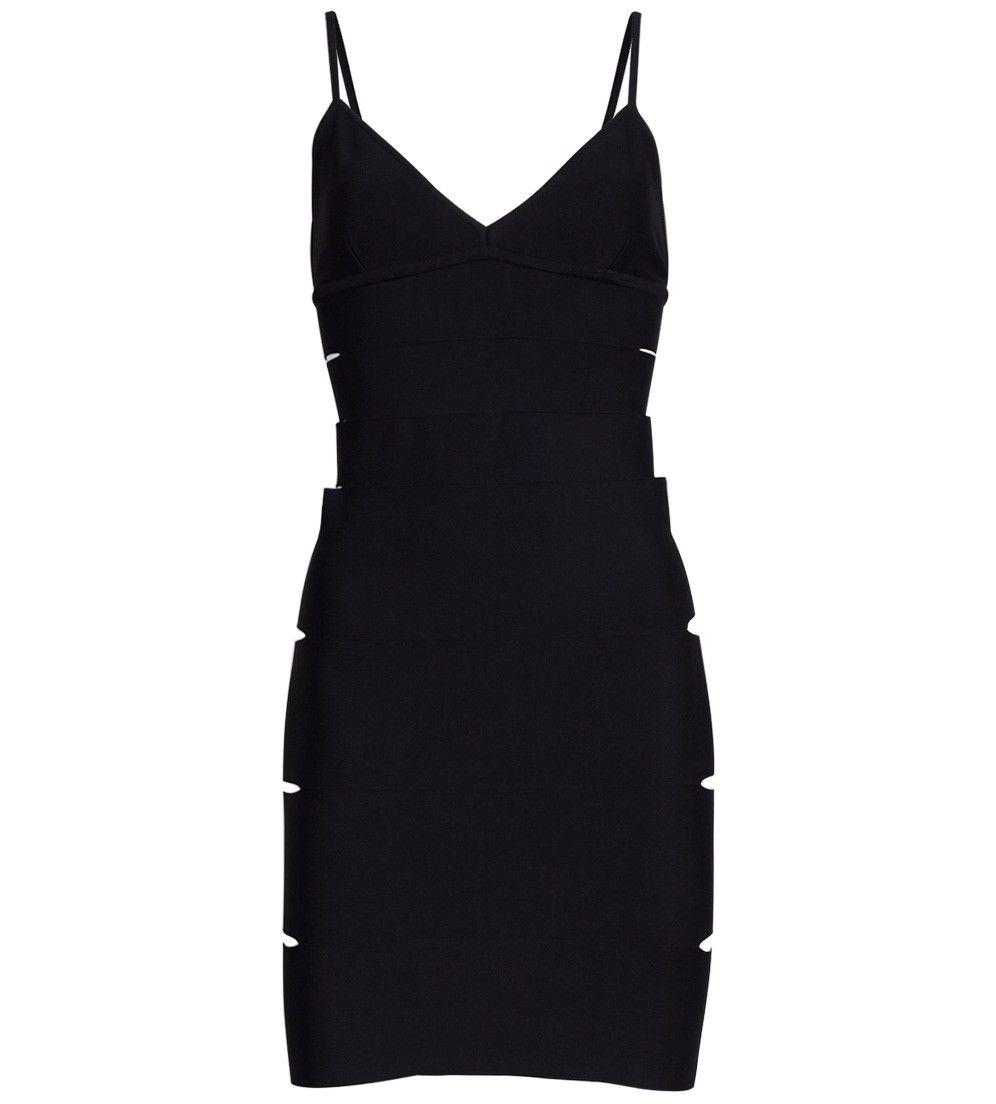 Black Banded Dress