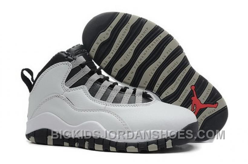 half off 361ea 6129a Low Cost Nike Air Jordan X 10 Retro Womens Shoes Hot Stright ...