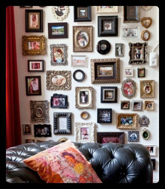 Fill-Er-Up The Maximalist Gallery Wall Wall and All Pinterest