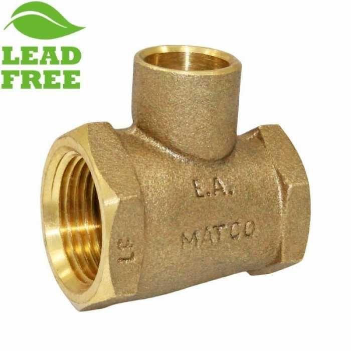 Matco Norca Crtf040303lf 3 4 Fpt X 1 2 Fpt X 1 2 C Cast Brass