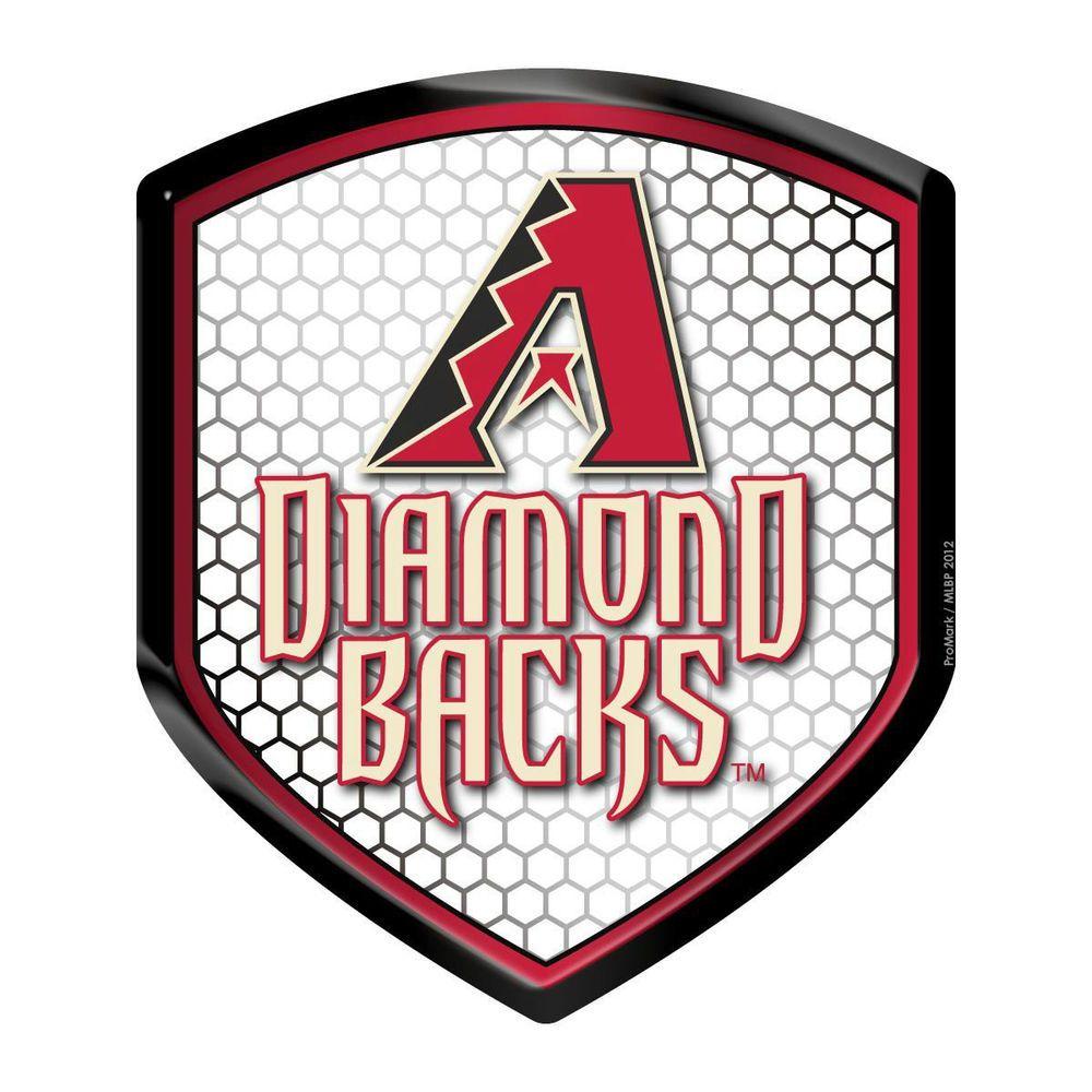 Arizona Diamondbacks Team Reflector Shield Decal Sticker