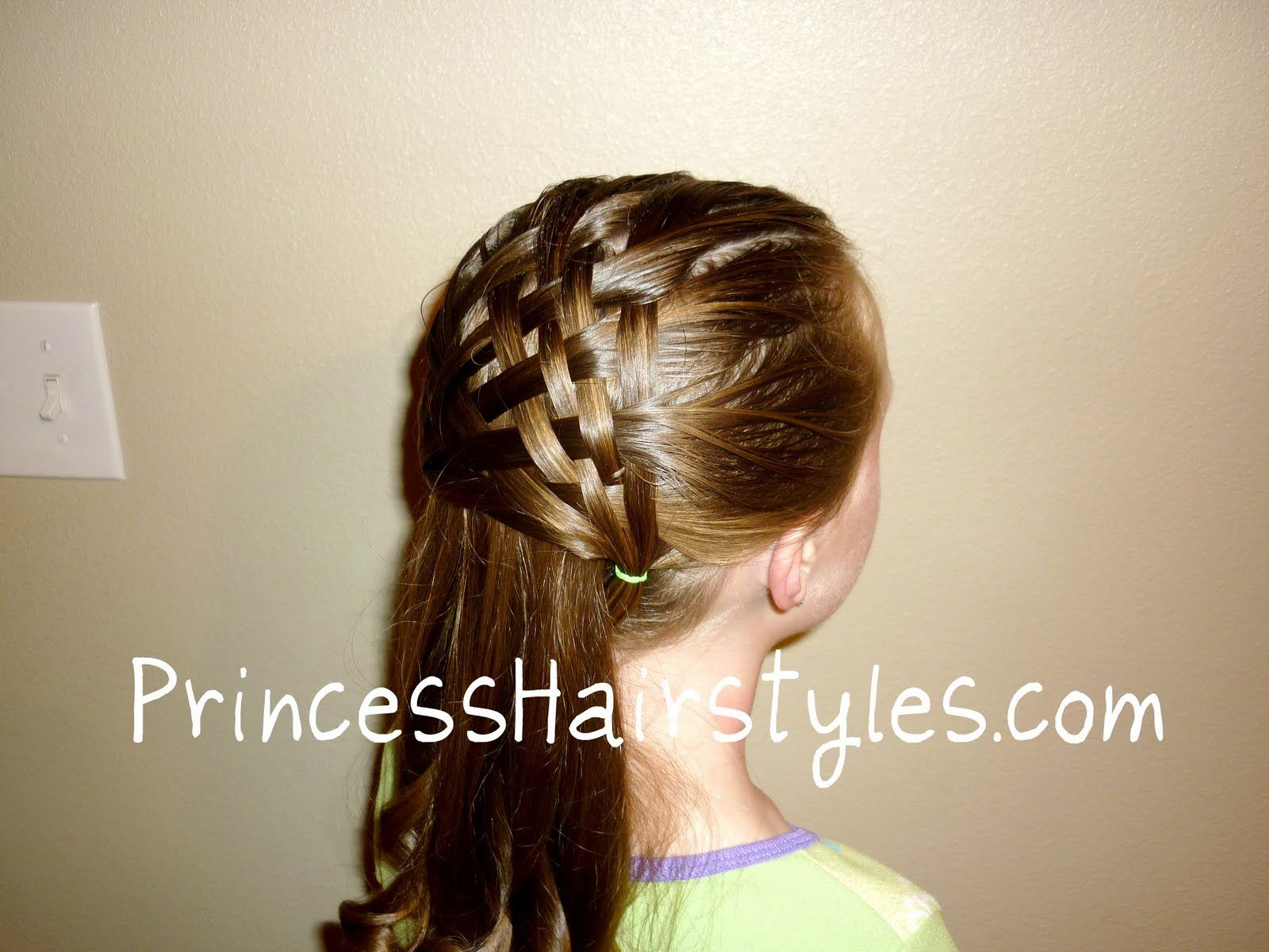 Basket Weave Hairstyle Design By Request Hair Pinterest Hair