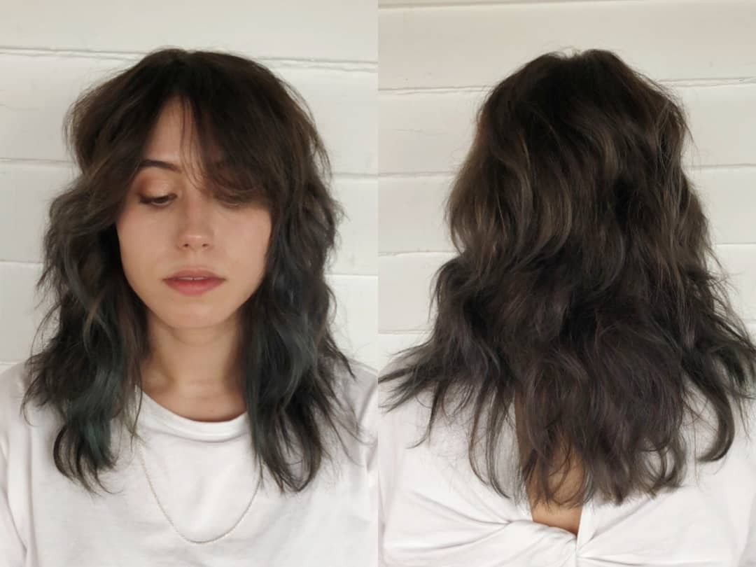 Long Layered Haircuts Wavy Hair No Bangs In 2020 125 Coolest Shag Haircuts For All Ages Prochro Haircuts For Wavy Hair Medium Hair Styles Long Layered Haircuts