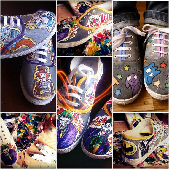 Personalized handpainted shoes custom sneakers with by MadCandies