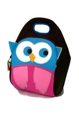 Lunchtas Hoot Owl, makkelijk voor mee te nemen naar school@anno1939.nl