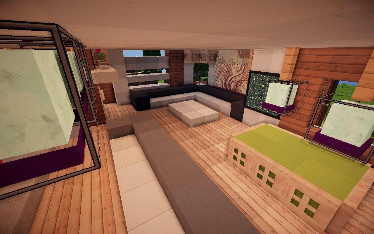 Living room | Minecraft designs, Cool minecraft, Minecraft ...