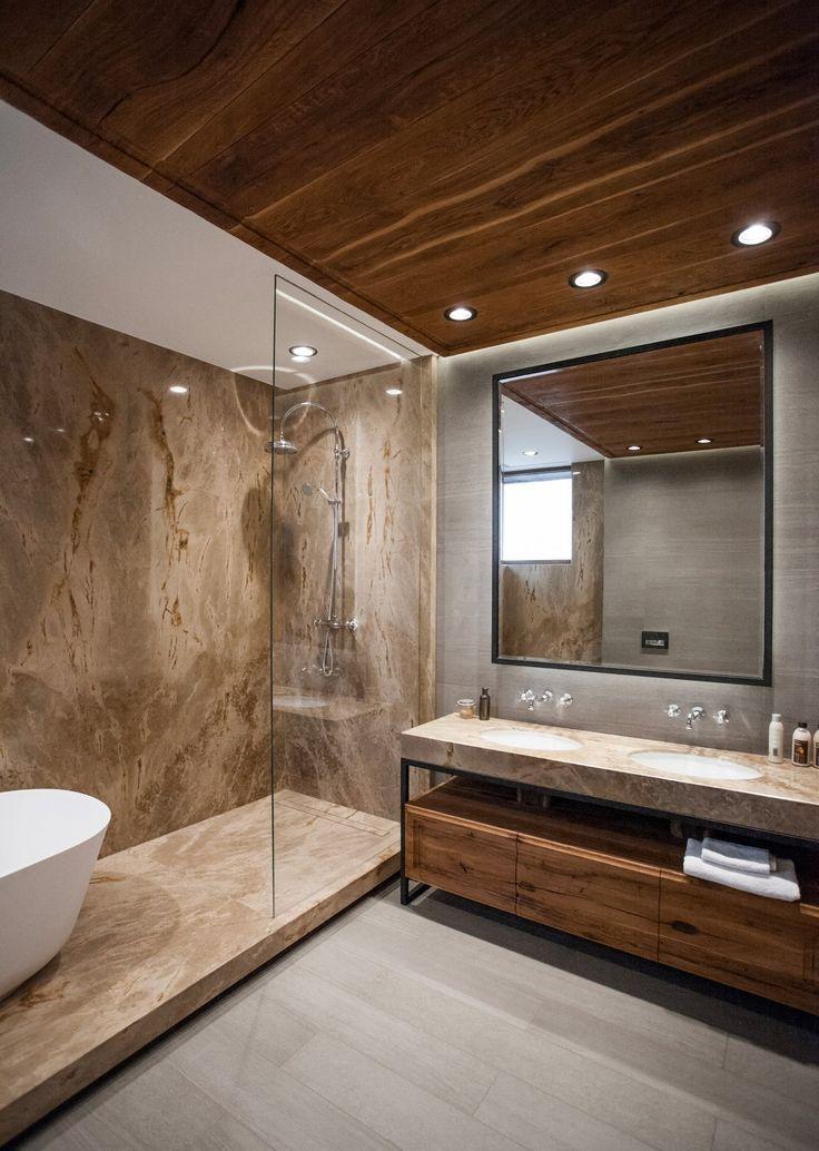 Kupferhaus Ein Chalet Im Modernen Stil Badezimmer Bathroom